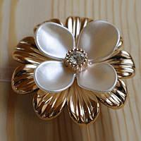 Декоративный магнит-подхват для штор и тюли Цветок №4