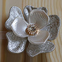 Декоративный магнит-подхват для штор и тюли Цветок №5