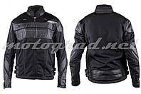 Мотокуртка текстиль черная mod: JK SCOYCO