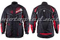 Мотокуртка текстиль черная mod: JK35 SCOYCO