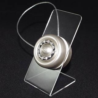 Декоративный магнит-подхват для штор и тюли на тросике №1