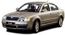 Защита двигателя на Skoda SuperB (2001-2008)