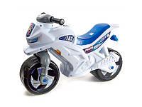 Мотоцикл 2-колесный с каской БЕЛЫЙ Орион