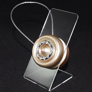 Декоративный магнит-подхват для штор и тюли на тросике №2