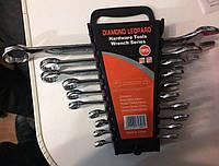 Ключи гаечные Diamond Leopard Hardware Tools 10 шт. (рожково накидные), фото 1