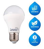 LED Лампа Lemanso 8W A60 E27 650LM , 4500K мат. (LM347)