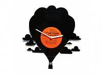 Виниловые часы Воздушный шар