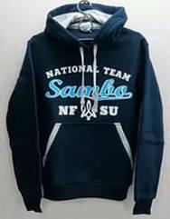 """Толстовка """"Sambo-national team"""" темно-синяя 38р."""