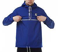 Синий анорак (куртка, ветровка) Ястребь (опт и розница)