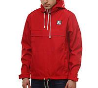 Красный анорак (куртка, ветровка) Ястребь (опт и розница)