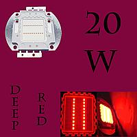 Светодиодная матрица 20 Вт (Deep Red 660нМ)