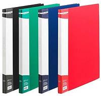 Папка на 20 файлов, ассорти. BuroMax