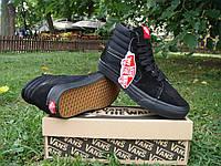 Кеды мужские Vans 30010 Чёрные