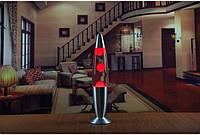 Лава лампа, парафиновая лампа 48 см  - Motion Lamp - цвет красный