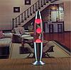 Лава лампа, парафиновая лампа 31 см  - Motion Lamp - цвет красный