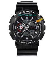 Спортивные часы Casio G-shock GA-110 Black-White (Касио)