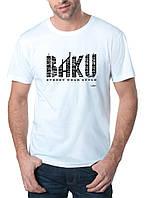 Baku - Футболка Мужская с Дизайном