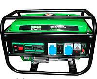 Бензогенератор Greenpower 3,000 Вт (4-х тактный) 220V