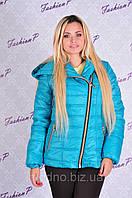 Куртка Наоми весна SL-5055 (голубой), фото 1