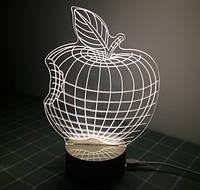 Светильник Оптический обман 3D Apple