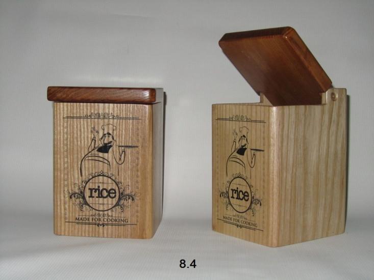 """Деревянные контейнеры Rice - Интернет-магазин сувениров и подарков,товаров для дома """"КОРОБ"""" в Никополе"""