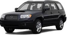 Защита двигателя на Subaru Forester (1997-2008)