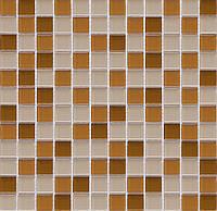 Мозаика стеклянная бежевая Vivacer CMmix01