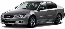 Защита двигателя на Subaru Legacy (2004-2009)