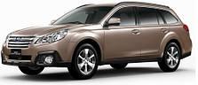 Защита двигателя на Subaru Outback (2009-2014)