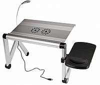 Столик для ноутбука YOKO VIP Silver