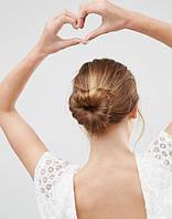 Бублики для создания причесок и резинки для волос
