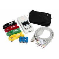 Электрокардиограф 100G Heaco,Портативный кардиограф 100G Heaco (Хико) 3-х канальный сумка в подарок