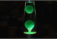 Лава лампа, парафиновая лампа 31 см  - Motion Lamp - цвет зеленый