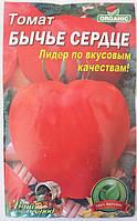 Томат Бычье сердце, позднеспелый, 5 гр. (Organic)