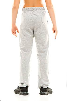 Подросток спортивные штаны 313/1 серые, фото 2
