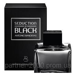 "Antonio Banderas ""Seduction In Black"" 100ml (Мужская туалетная вода) Men"