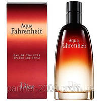 "Christian Dior ""Fahrenheit Aqua"" Мужская парфюмерия"