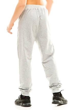 Подросток спортивные штаны 314 серые, фото 2