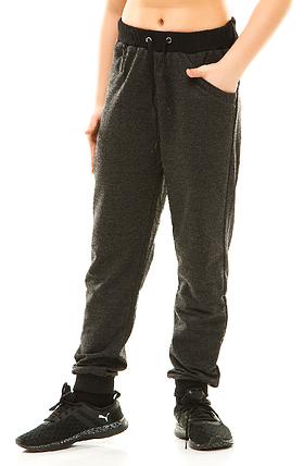 Подросток спортивные штаны 314 темно-серые, фото 2