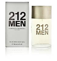 """Carolina Herrera """"212 Men"""" стекло 100ml (Мужская туалетная вода)"""