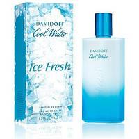 """Davidoff """"Cool Water Ice Fresh"""" edt 125 ml (Мужская туалетная вода) Мужская парфюмерия"""