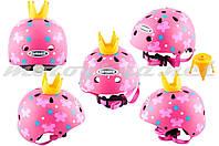Шлем детский открытый розовый PRINCESS GSB