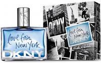 "Donna Karan ""DKNY Love from New York for Men"" 100 ml (Мужская туалетная вода) Мужская парфюмерия"