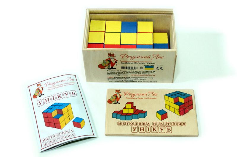 Кубики Никитиных Уникуб Розумний Лис (90047)
