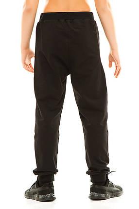 Подросток спортивные штаны 314 черные, фото 2