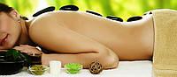 Тайский массаж спины с горячими камнями 40 минут