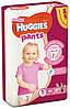 Подгузники-трусики Huggies Pants для девочек 5 (12-17 кг), Mega Pack 44 шт.