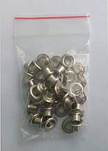 Блочки для обуви (заклепки) никель(40шт) комплект