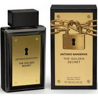 "Antonio Banderas ""The Golden secret"" 100ml (Мужская туалетная вода) (Люкс) Мужская парфюмерия"