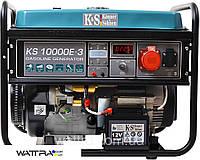 Генератор бензиновый (8 кВт)Konner & Sohnen KS 10000E-3